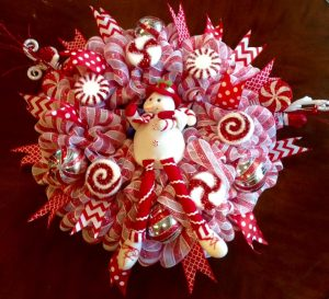 Snowman Wreath by Whimsical Wreaths by Amy