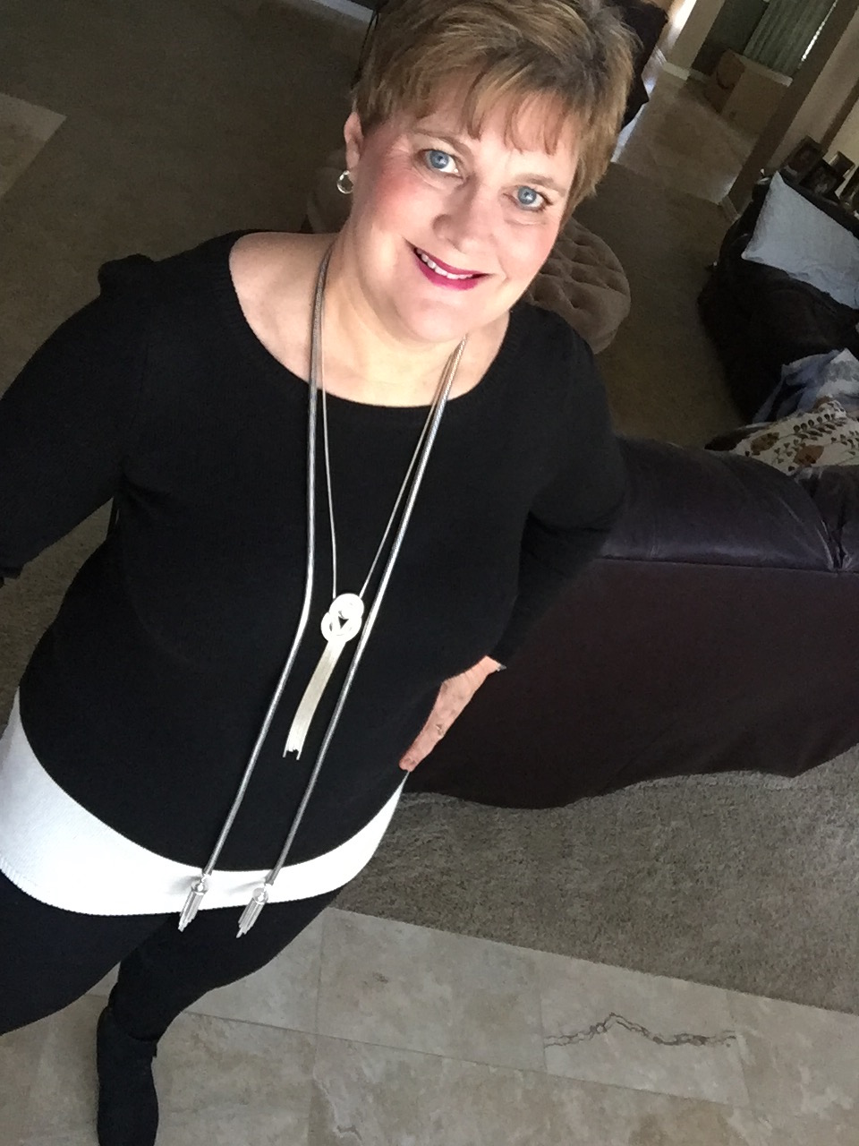 Cathy Lawdanski, mysideof50.com pairs old with new for a whole new look.