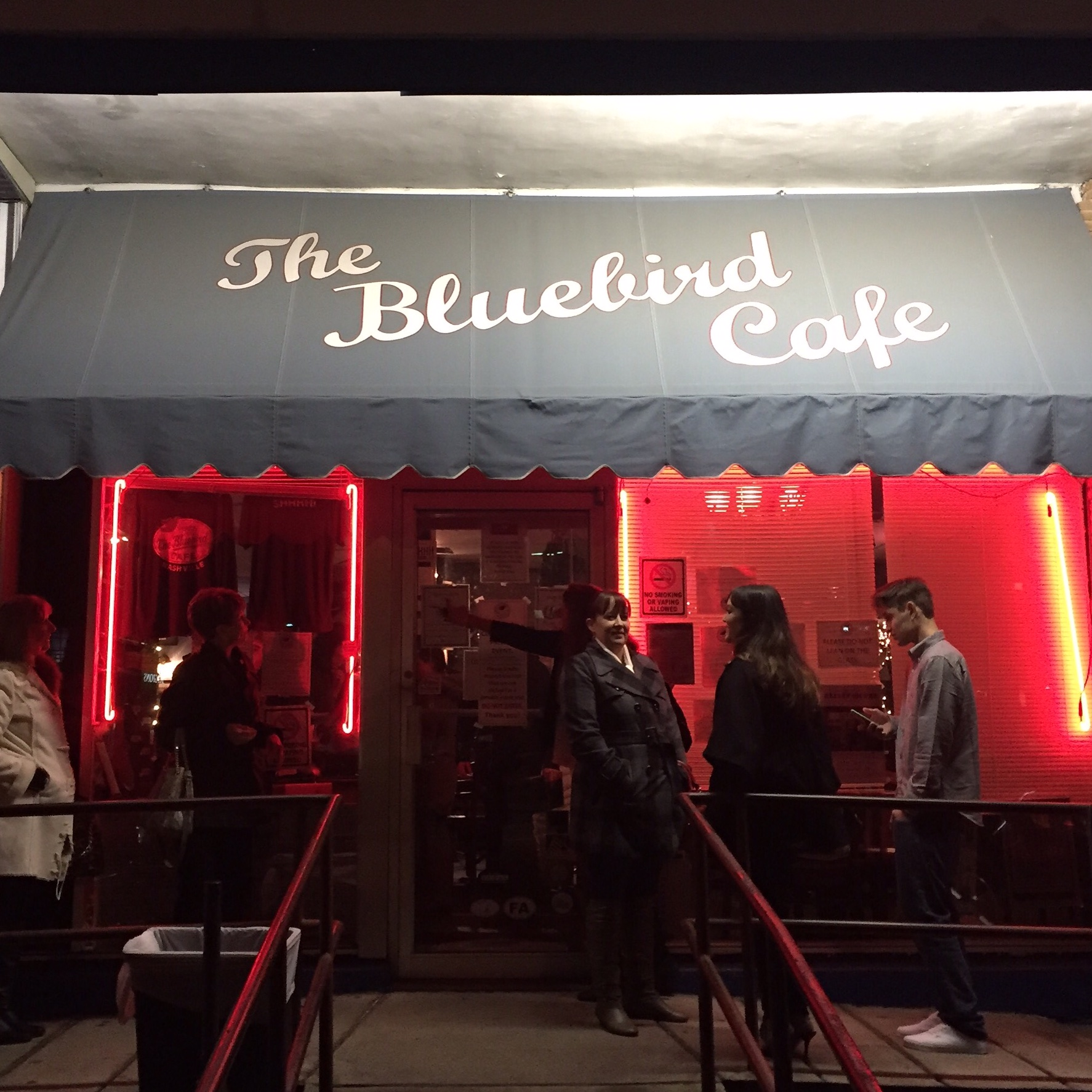 The Bluebird Cafe features songwriters performing their original songs