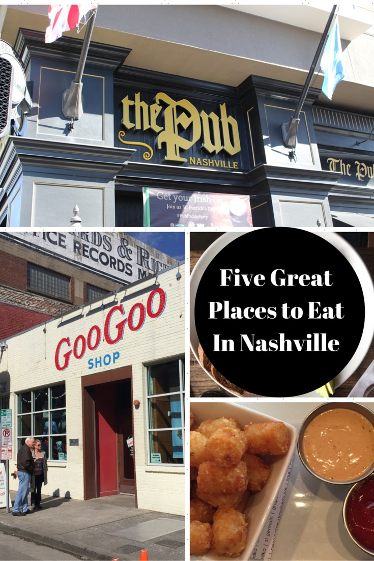 5 Great Places to Eat in Nashville