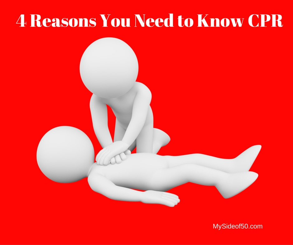 4 Reasons You Need to Know CPR | CPR Training | American Heart Association | CPR Instructions | CPR Certification