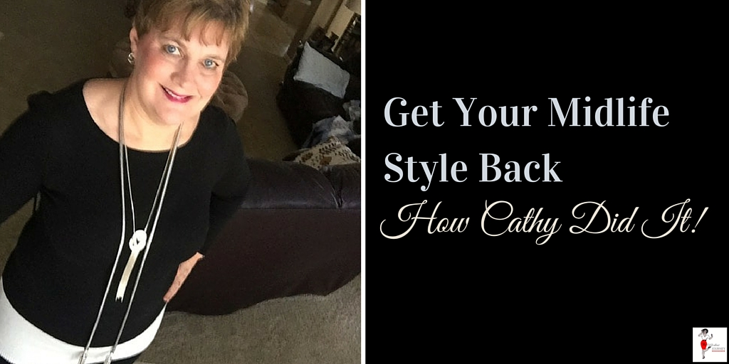 How Blogger Cathy Lawdanski Got Her Midlife Style Back