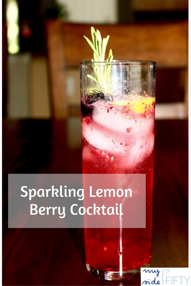 Berry Lemon Cocktail - A refreshing Summer Cocktail