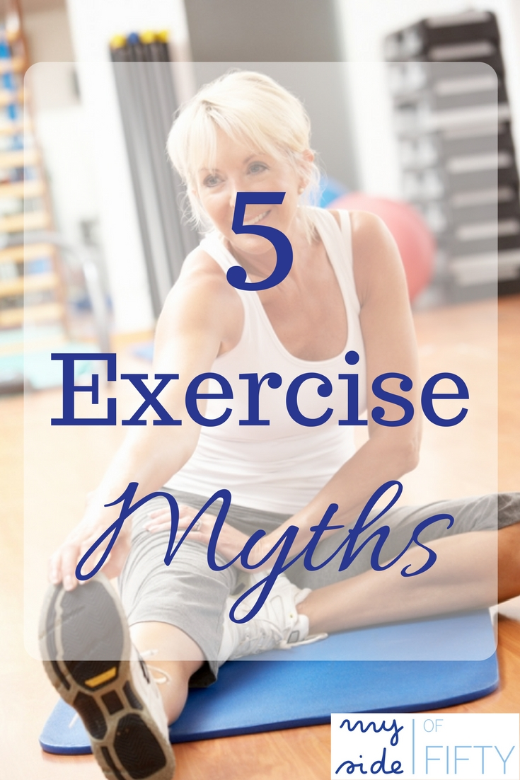 The Top 5 Crazy Exercise Myths That Women Need to Know. Lifting Weights Make You Bulky. No Pain, No Gain, You Have To Do Cardio To Lose Weight