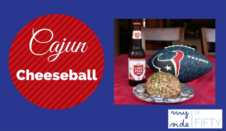 How To Make Cajun Cheeseball | The Ulitmate Superbowl Snack. Easy, make ahead cheeseball with a kick. Can be made ahead and frozen.