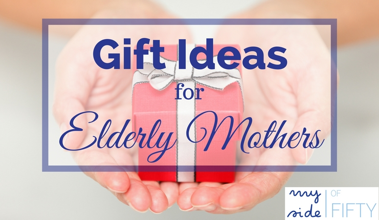 Gift Ideas for Elderly Motheres who live in assisted living or nursing homes. Many of these special ladies have limited space and don't want a lot of stuff. This expanded list will give you some great ideas of things elderly moms would appreciate and enjoy.