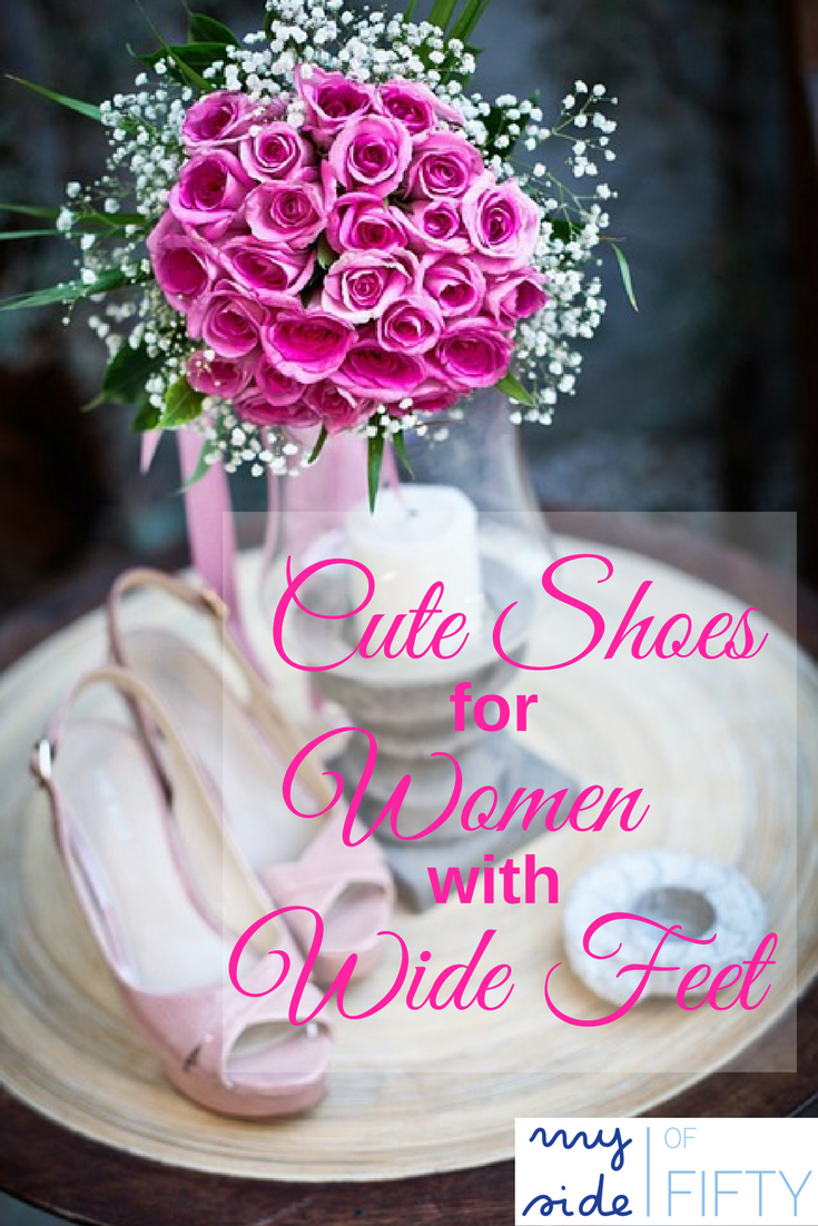 Cute Shoes for Women with Wide Feet | You don't have to sacrifice style to be comfortable. Check out these really cute styles in WIDE sizes from Zappos!