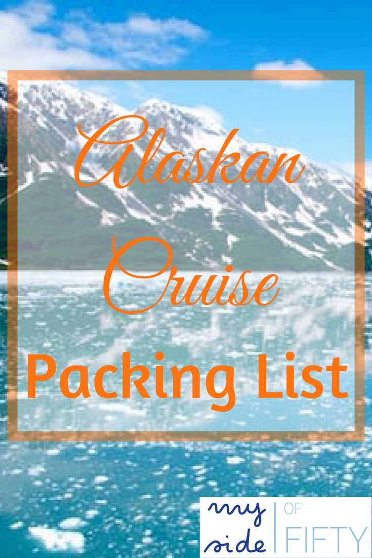 alaskan cruise packing list based on what i took and what i actually wore