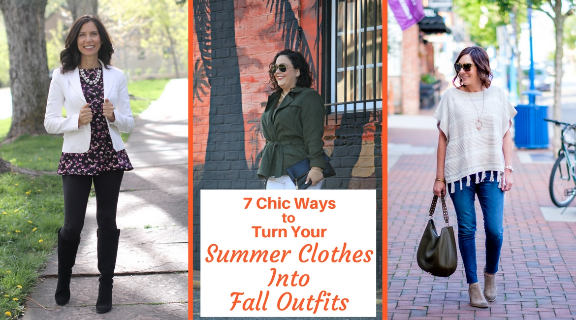 1031087792 7 Chic Ways to Turn Your Summer Clothes Into Fall Outfits