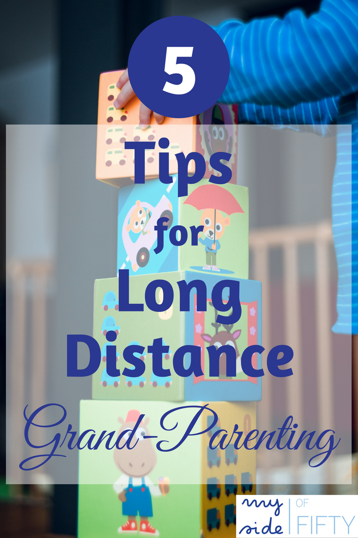 5 Tips Long Distance Grand-Parenting Tips to Shrink the Miles Between You and Your Favorite Loved Ones | Technology | Snail Mail | Reminder Cues | Visit Often | Leave Mementos