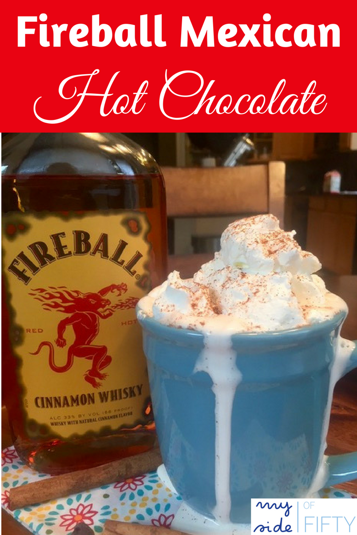 Fireball Mexican Hot Chocolate | Hot Chocolate | Fireball | #Fireball