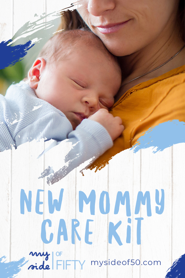 New Mommy Care Kit | Mom Holding New Baby
